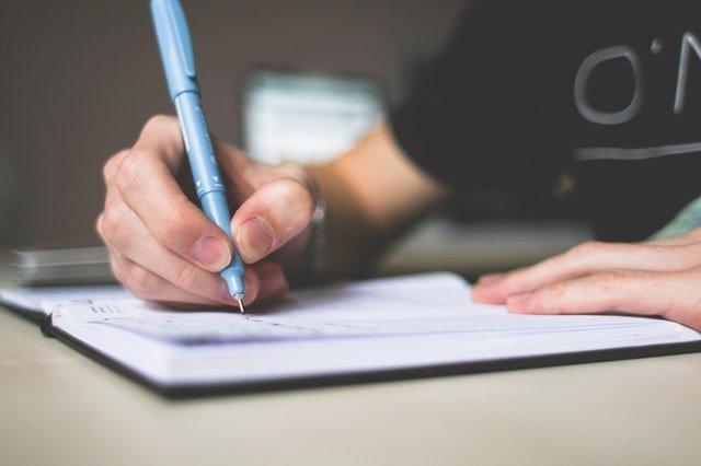 3 råd  - til bachelor  skrivningen